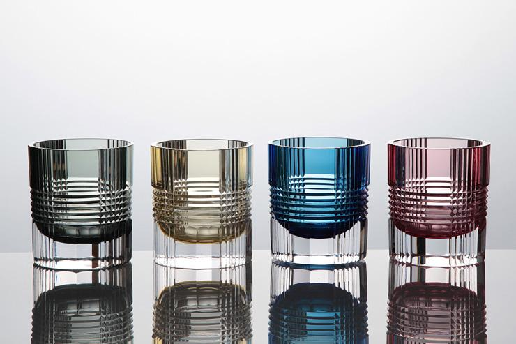 Collection de verres en cristal Artel