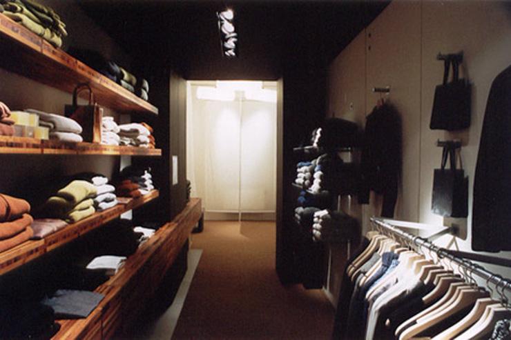 Intérieur de la boutique Bohème sur Dušní