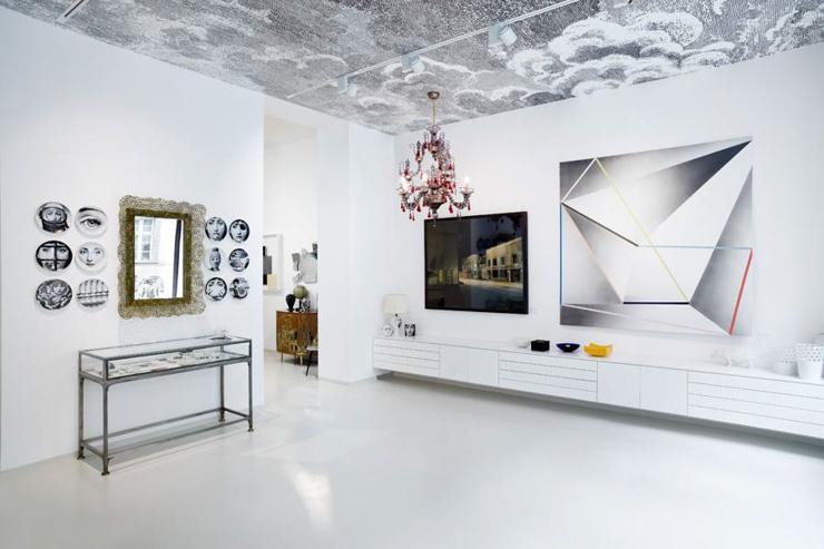 Prague Kabinet - Intérieur de la galerie