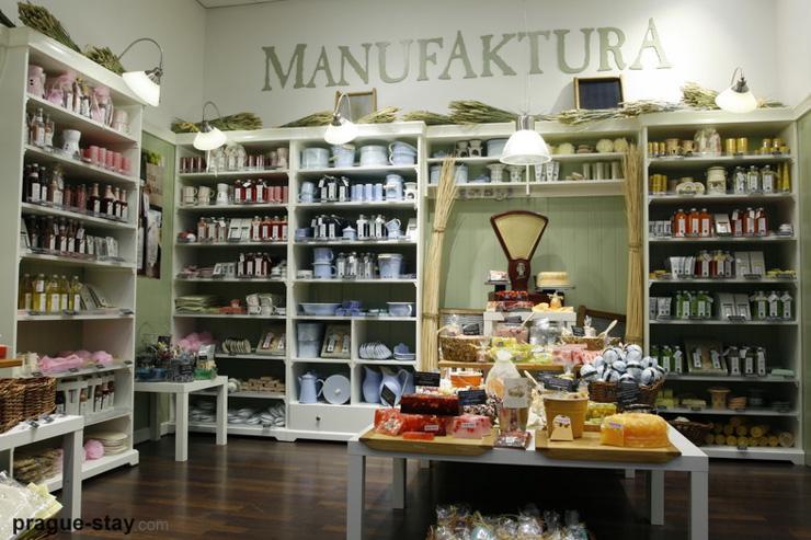 Intérieur d'une boutique Manufaktura