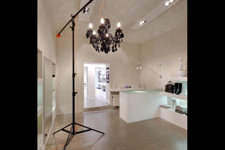 Qubus - Intérieur de la galerie