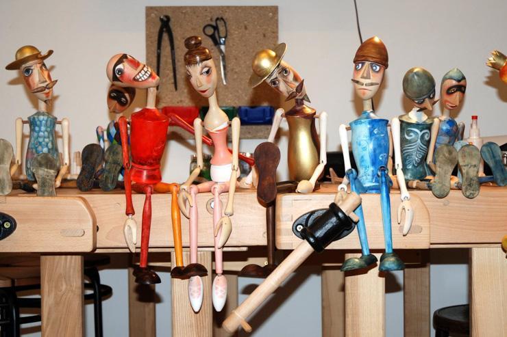 Marionettes en bois par Truhlář Marionety - Modèles classiques