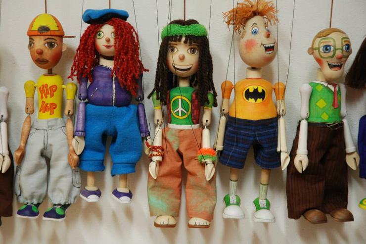 Marionettes en bois par Truhlář Marionety - Modèles modernes