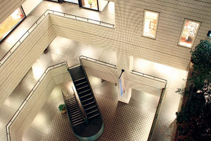 Axis Building - Intérieur du bâtiment