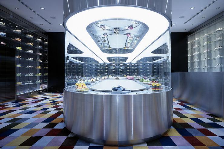 BAPEXCLUSIVE Aoyama - Intérieur du magasin