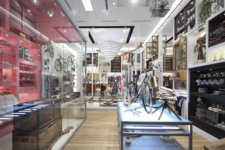 Pass The Baton Omotesando - Intérieur du concept store