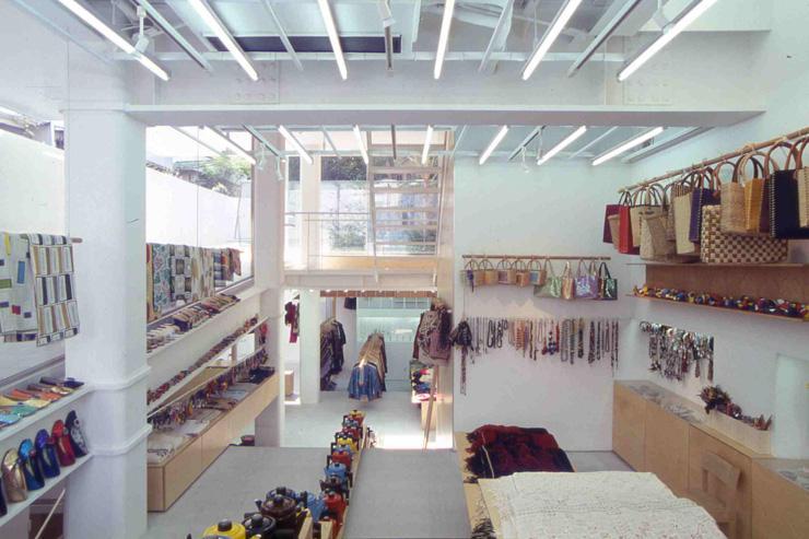 QUICO - Intérieur de l'espace de vente