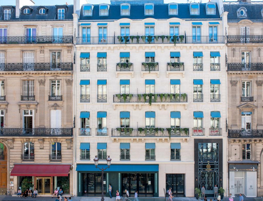 Le nolinski nouveau boutique h tel ultra sophistiqu for Boutique hotel 9th arrondissement