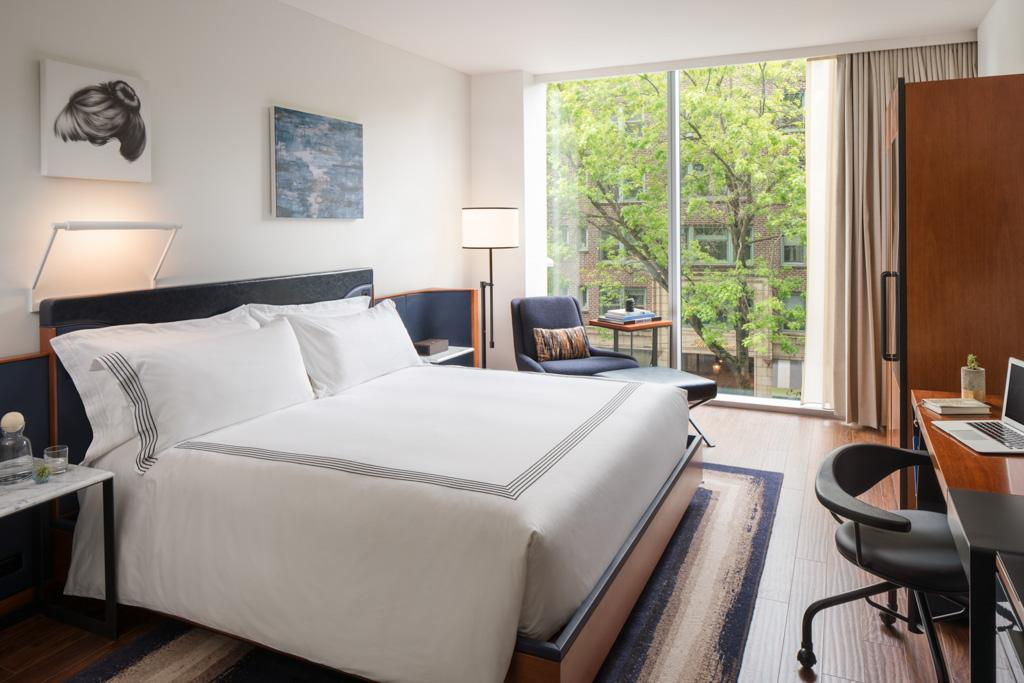 Au thompson seattle hotel vues spectaculaires et design for Hotel contemporain