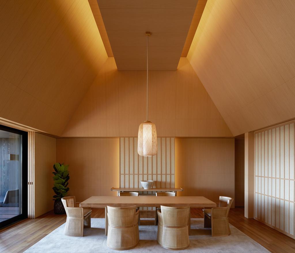 Table À Manger Japonaise aman dévoile l'amanemu, sa seconde adresse au japon