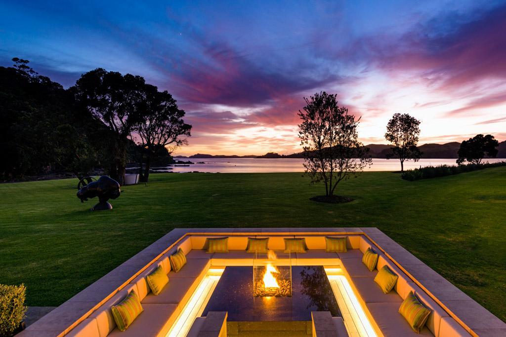 Helena bay le nouveau lodge le plus exclusif de - La villa rahimona en nouvelle zelande ...