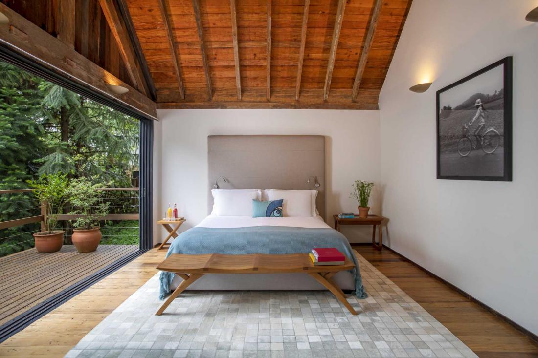 Une seconde chambre dans une villa privée