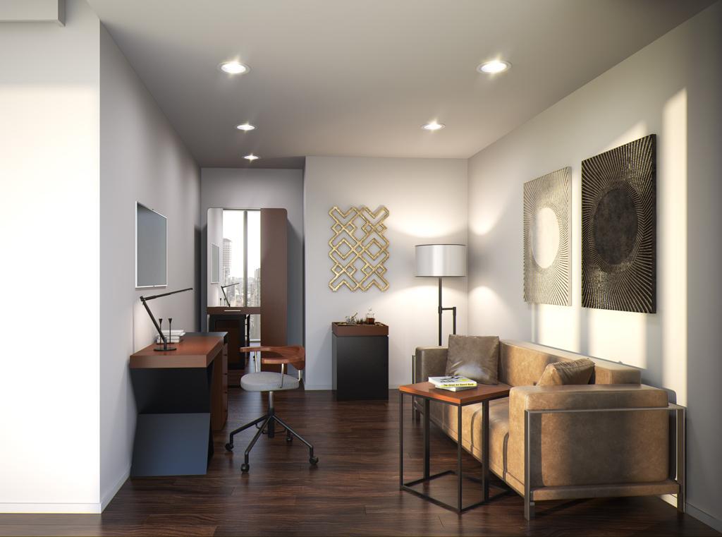 au thompson seattle hotel vues spectaculaires et design contemporain. Black Bedroom Furniture Sets. Home Design Ideas