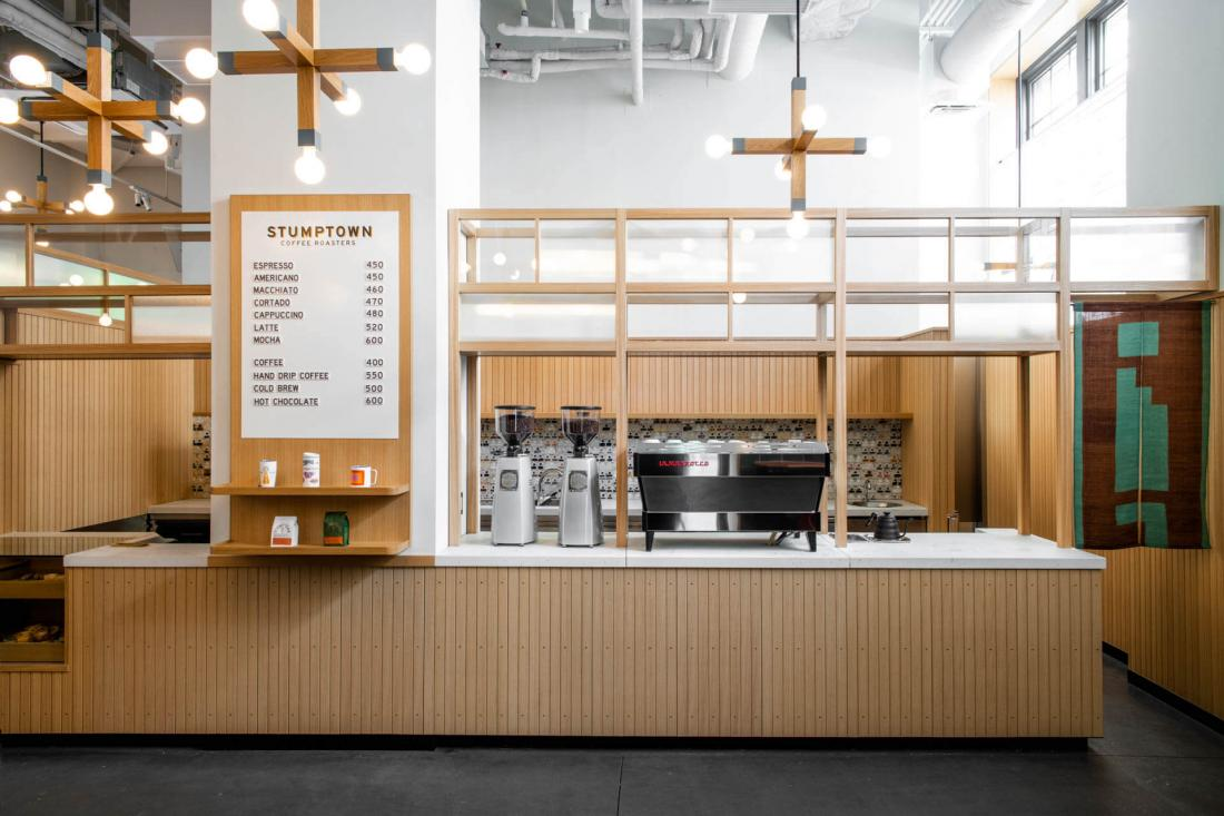 La boutique Stumptown Coffee Roasters (Portland, Seattle, LA, NY, Chicago) s'installe au Ace Hotel Kyoto