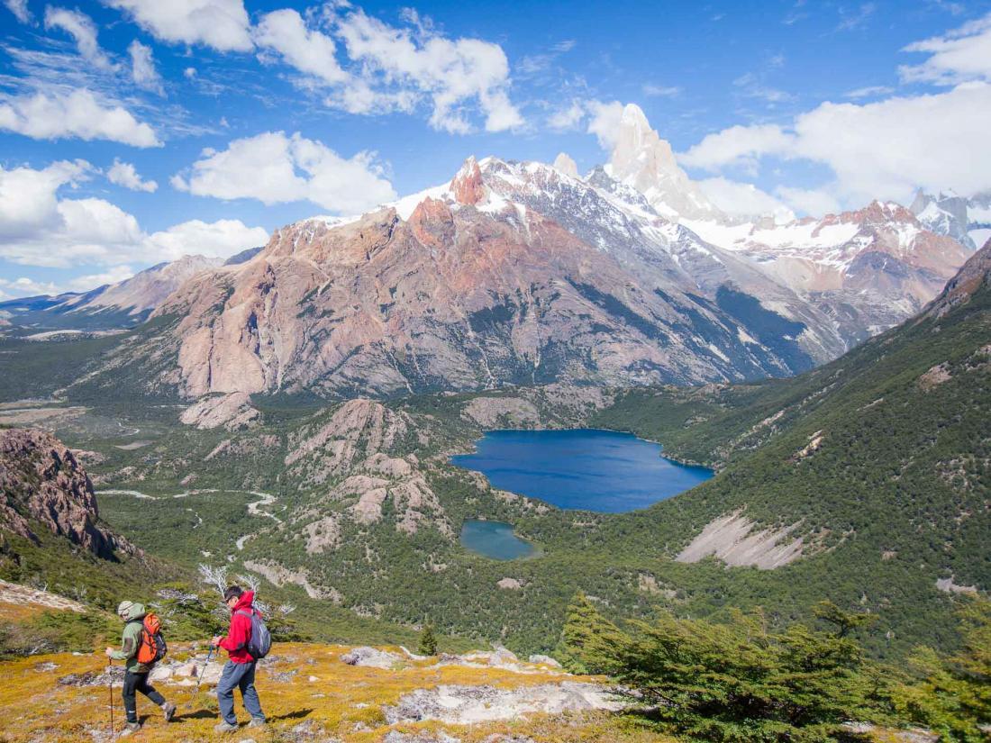 Randonnée dans la réserve Los Huemules parmi les sommets