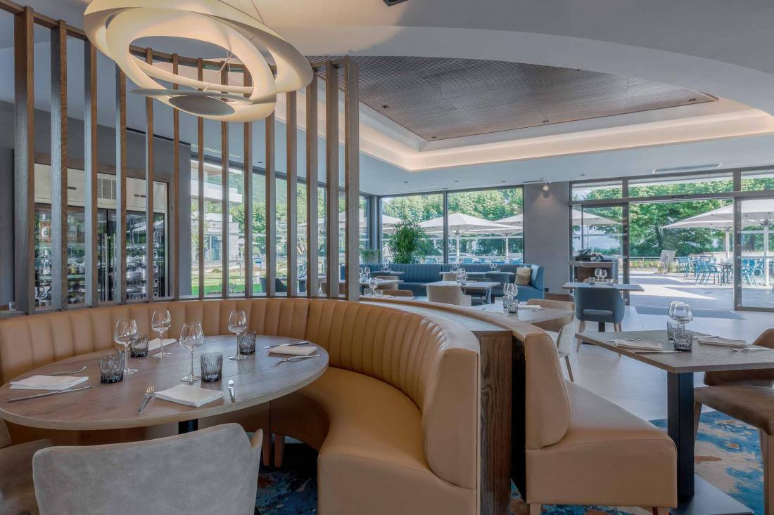 La salle du restaurant Le Ricochet
