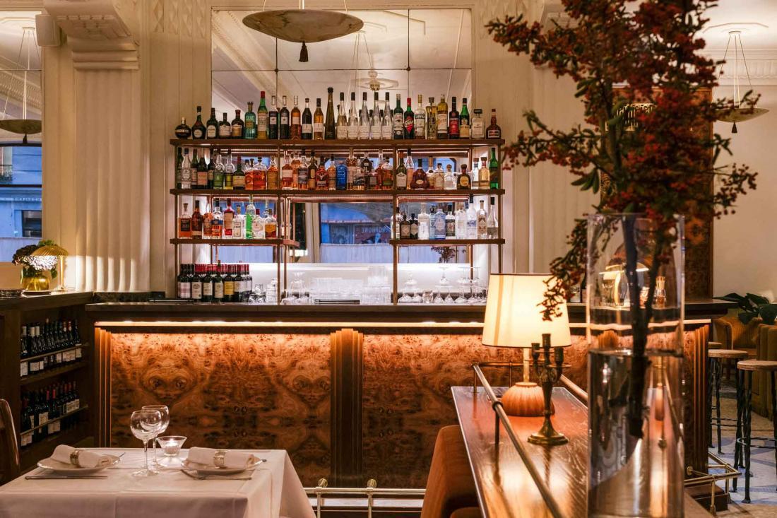 Les vins et alcools français sont à l'honneur dans la brasserie et au bar