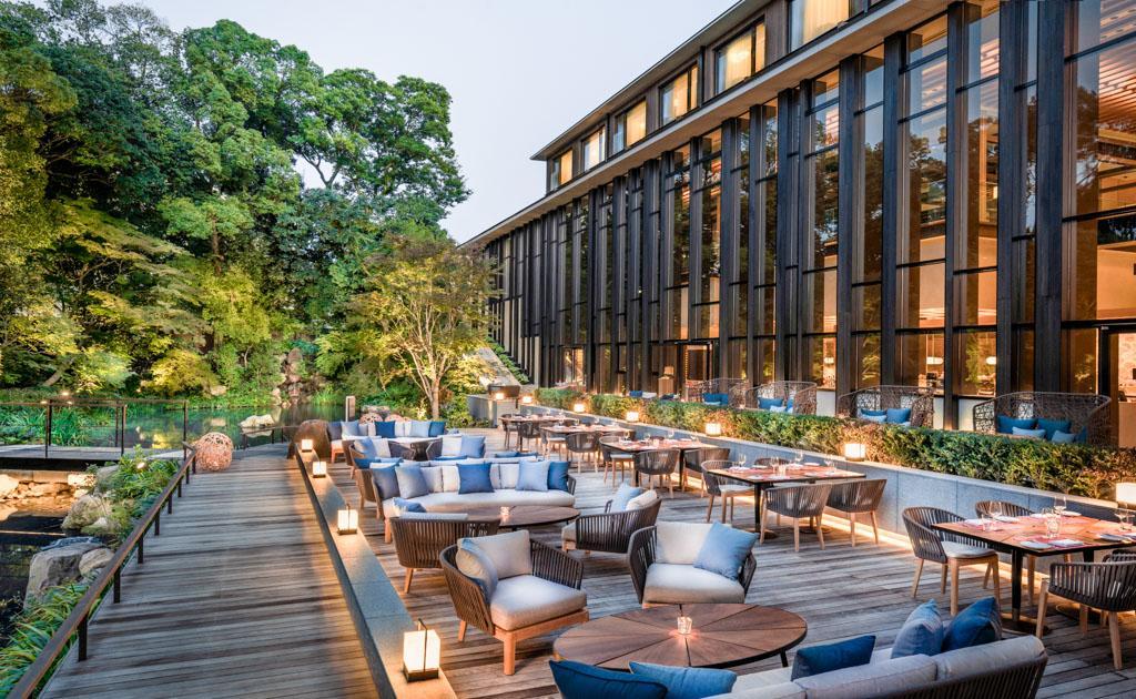 Le four seasons kyoto ouvre ses portes au japon for Brasserie le jardin