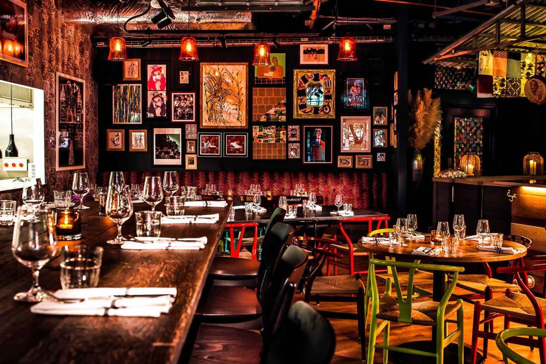 Le chef américain Marcus Samuelsson revisite les classiques du deep south américain et de la cuisine de New-York.