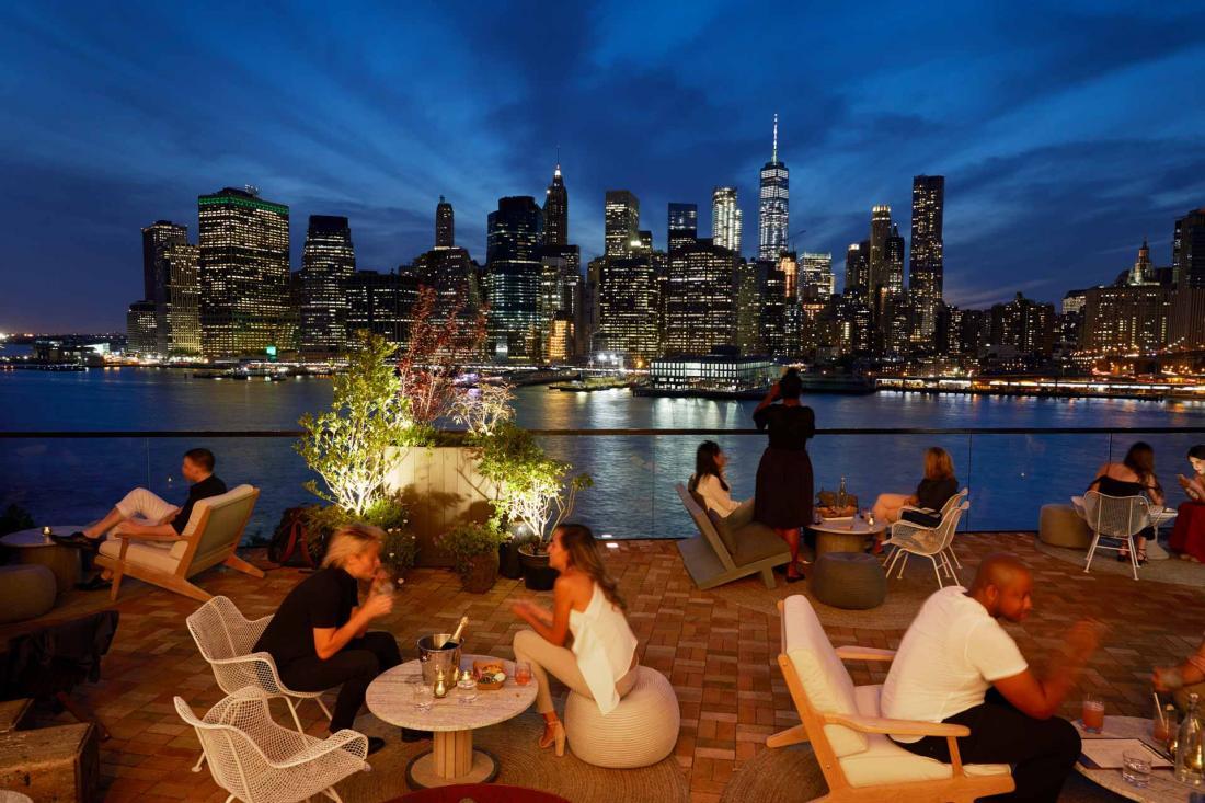 1 Hotel Brooklyn Bridge H 244 Tel Avec Vue Sur Manhattan Et
