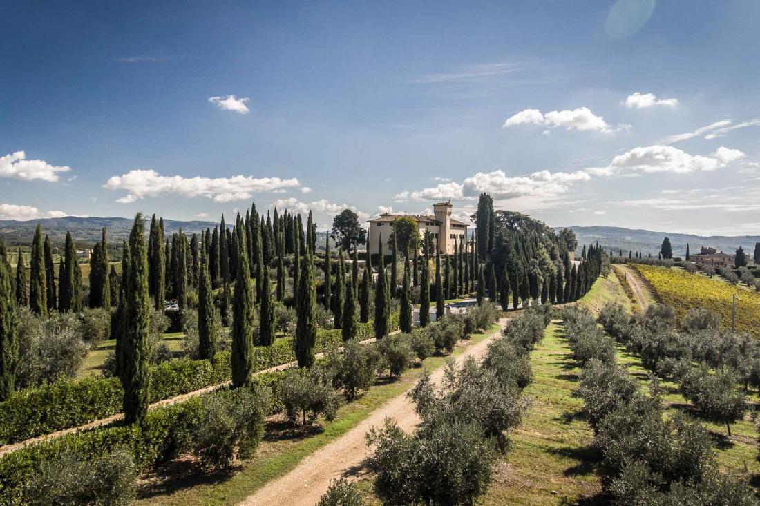 COMO Castello Del Nero - Vue extérieure
