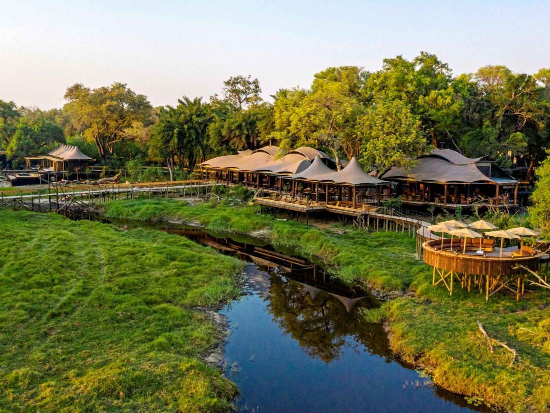 Le delta de l'Okavango est inscrit au patrimoine mondial de l'Unesco depuis 2014