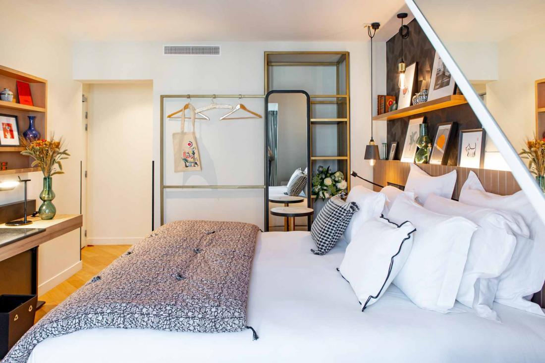 Une chambre « crème de la crème », lumineuse et cocooning