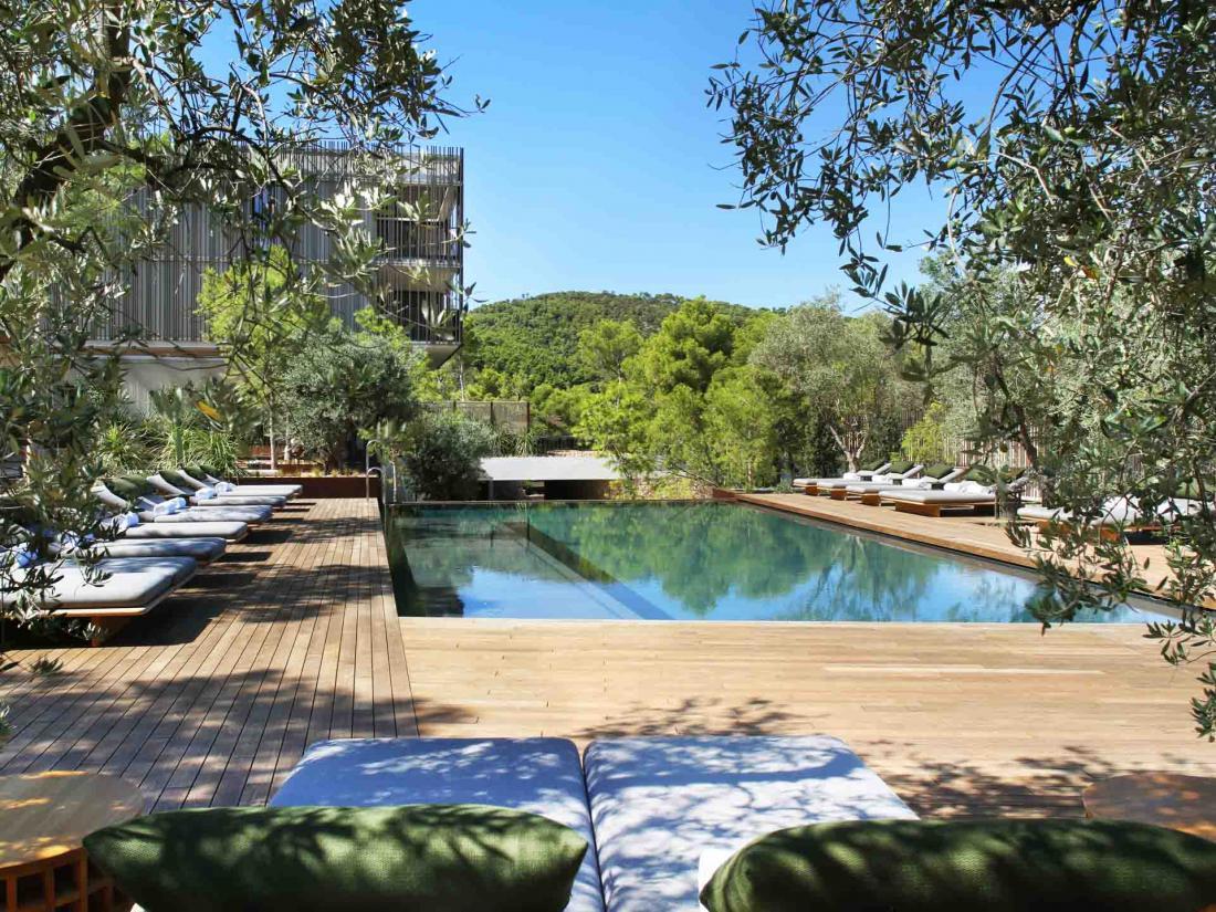 Les piscines de l'hôtel sont traitées à l'ozone et ne contiennent pas de chlore