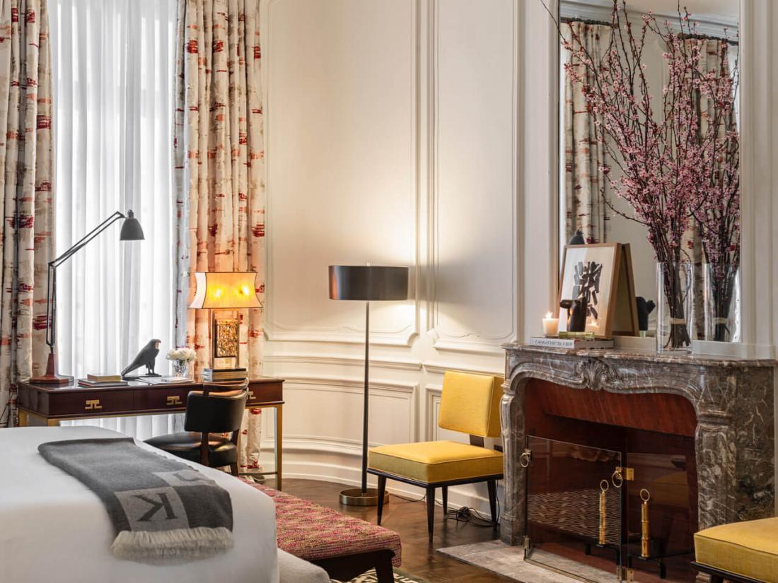 Dans les chambres, un décor, une atmosphère à la fois unique et intensément personnelle