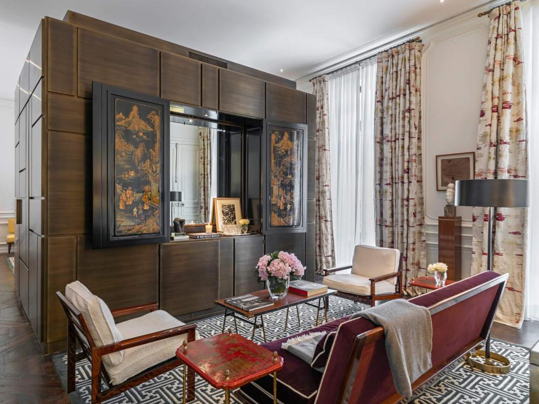 Un hôtel unique avec des horaires d'accueil et de départ aménagés, les minibars offerts et une incomparable conciergerie