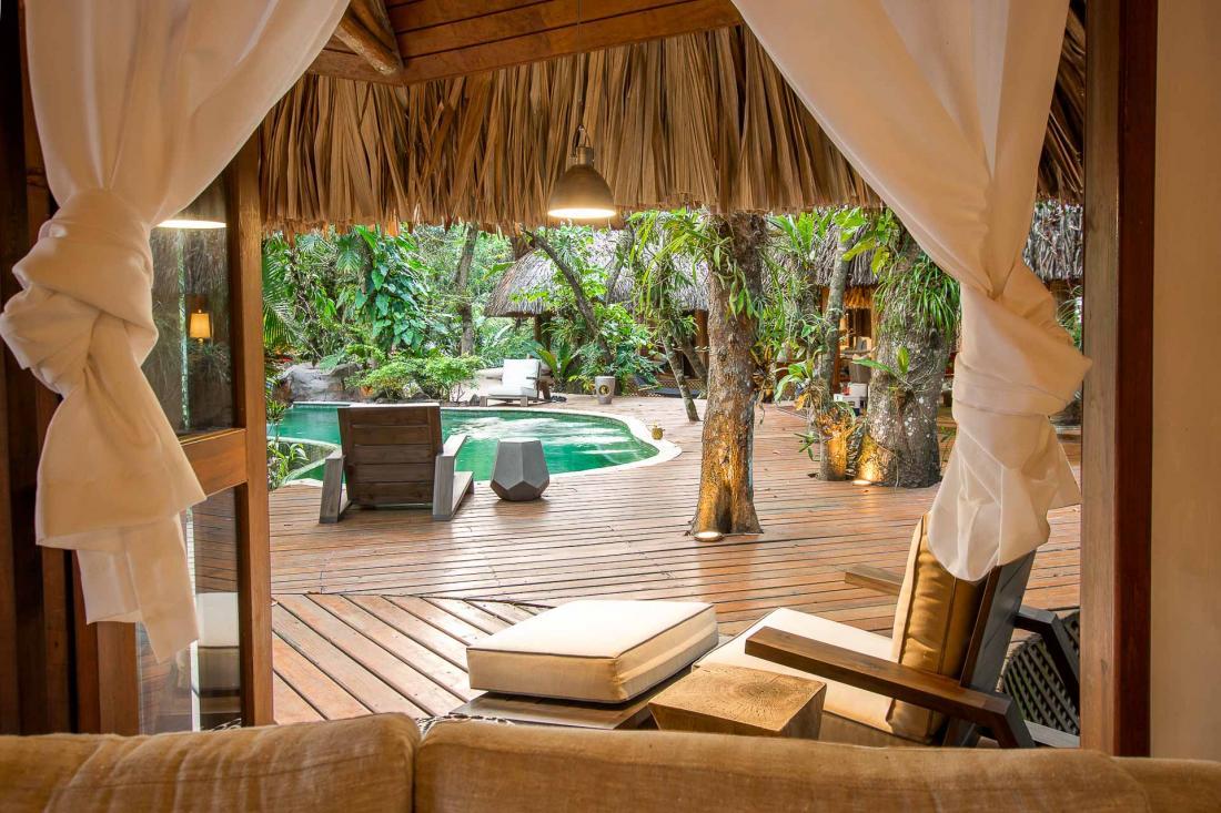 L'intimité de Cassa Zenda en fait un lieu parfait pour passer ses vacances entre amis ou en famille