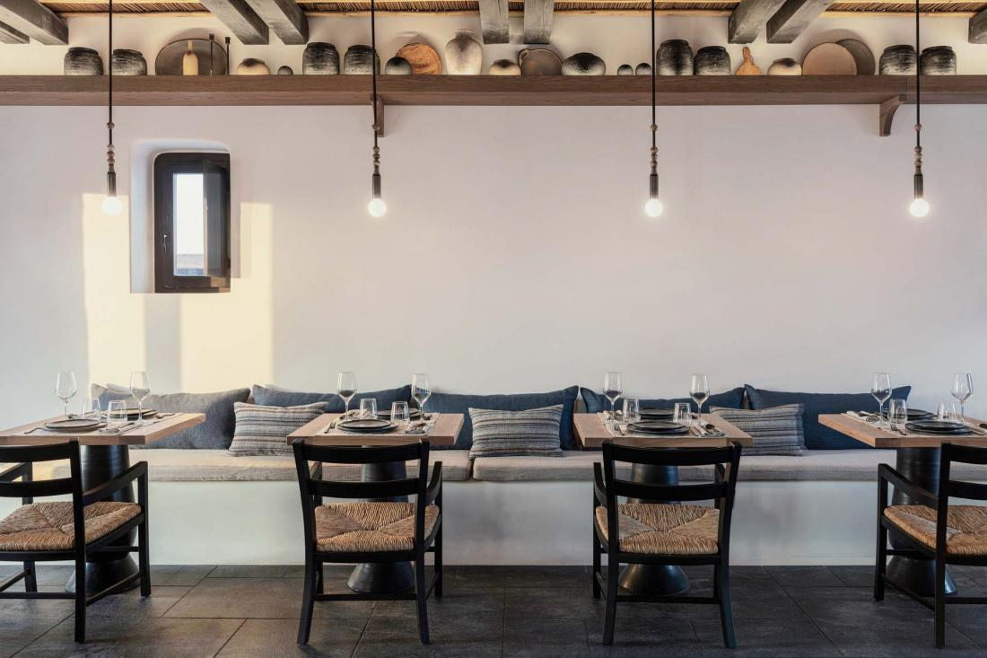 Le restaurant de cuisine grecque Pere Ubu