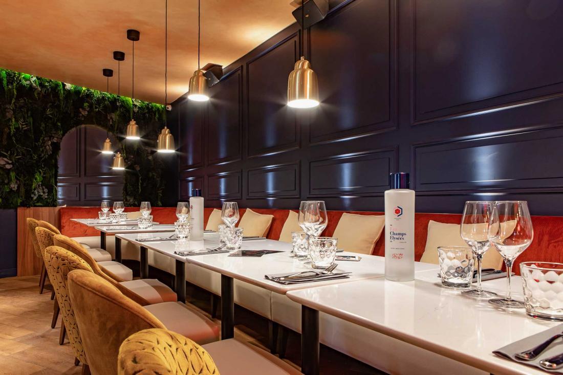 Hey Honey, le restaurant de l'hôtel par Santiago Guerrero