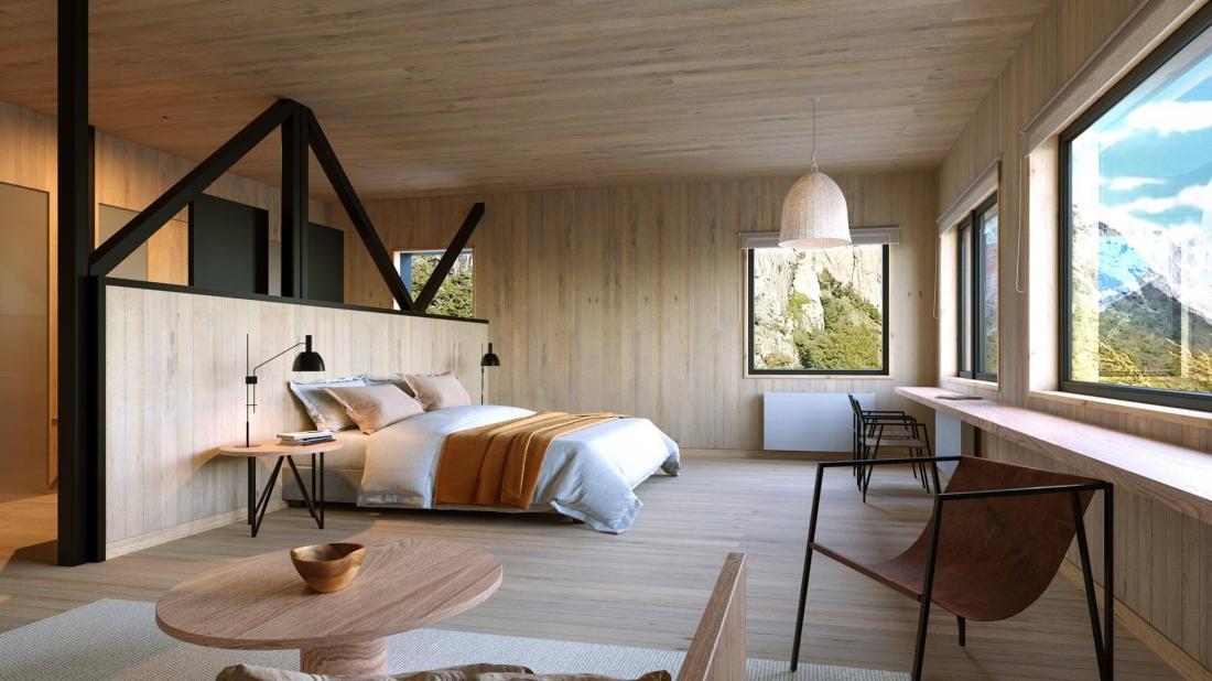 3 vastes suites de 60 mètres carrés, parfaites pour se reposer après une journée d'exploration