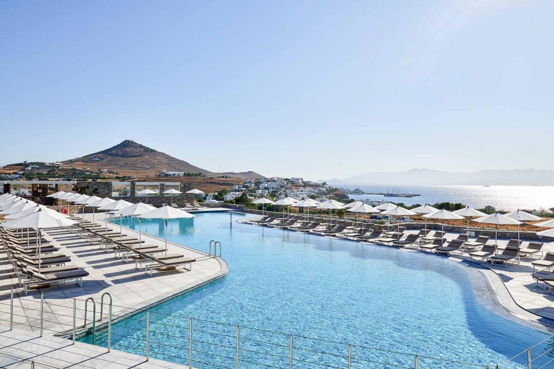Le Summer Senses possède également une piscine pour les enfants