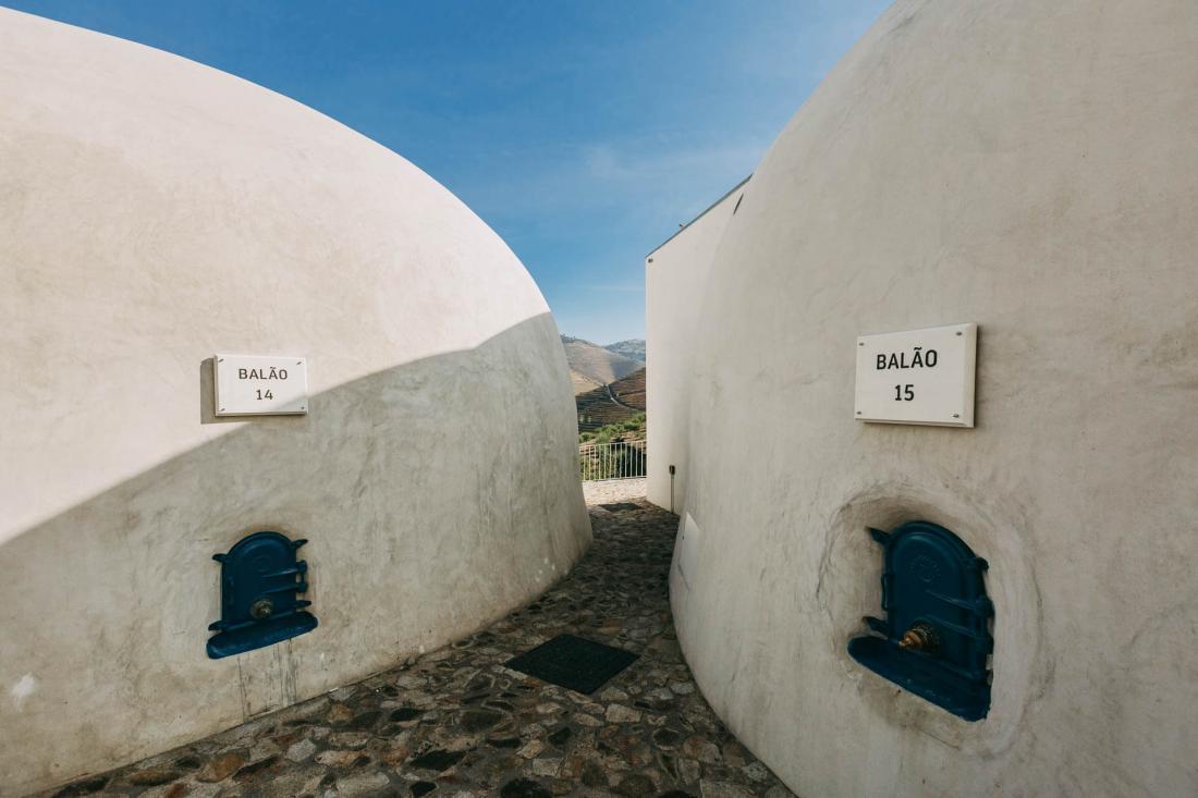 Les deux suites Balões ou « ballon » où était stocké le vin