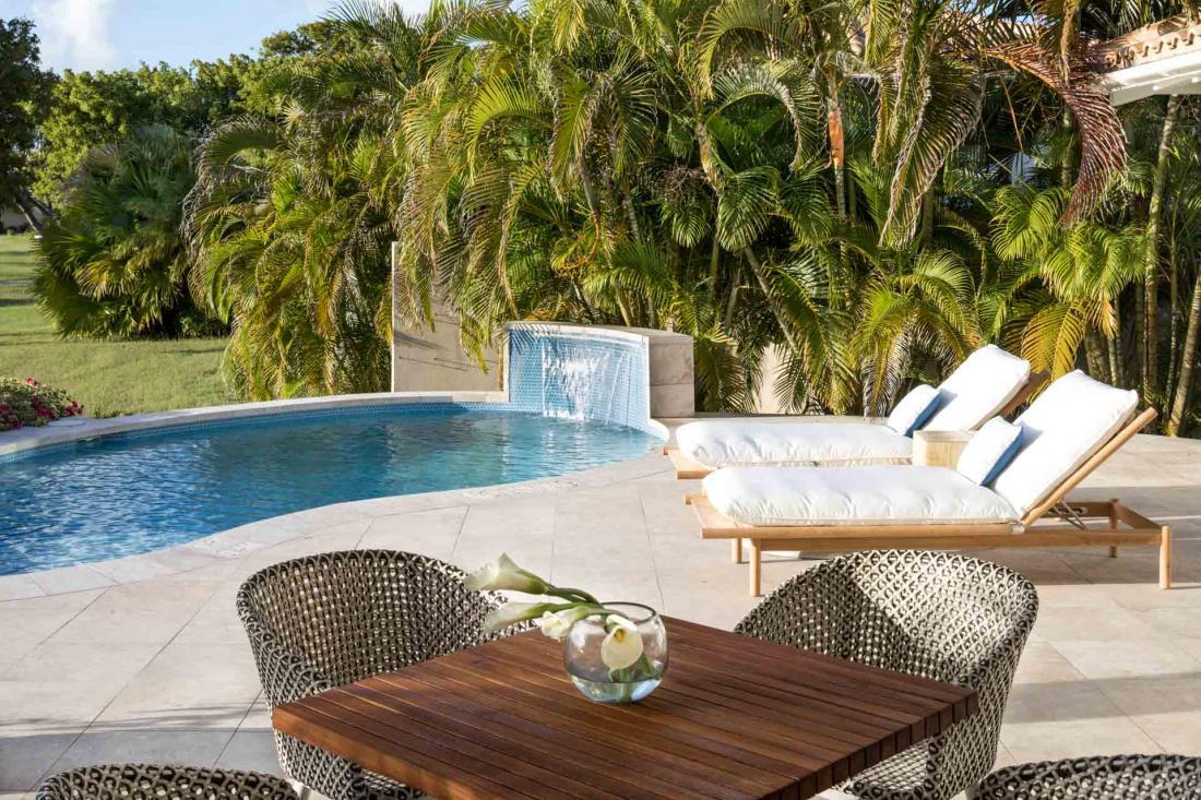 Entre mer et végétation luxuriante, les suites sont au nombre de 28