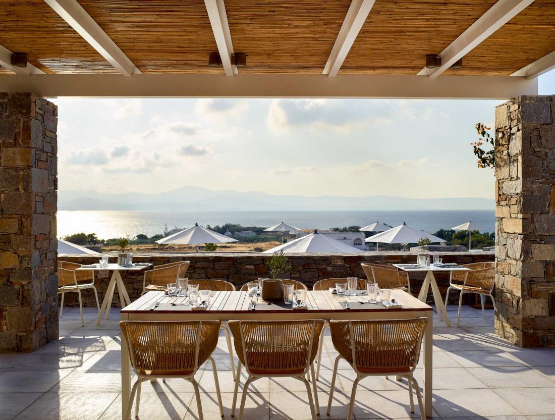 Le restaurant Gaia est ouvert du petit déjeuner au diner