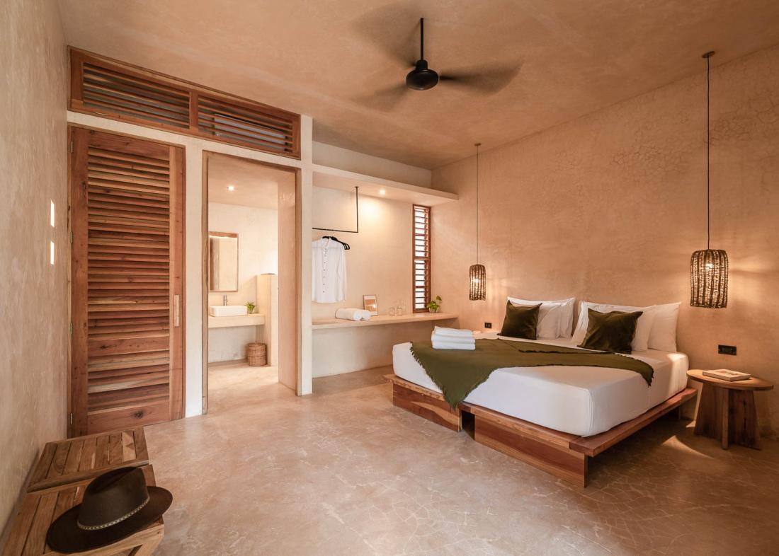 Yucatan Sences, marque locale et biologique, est présente à l'hôtel