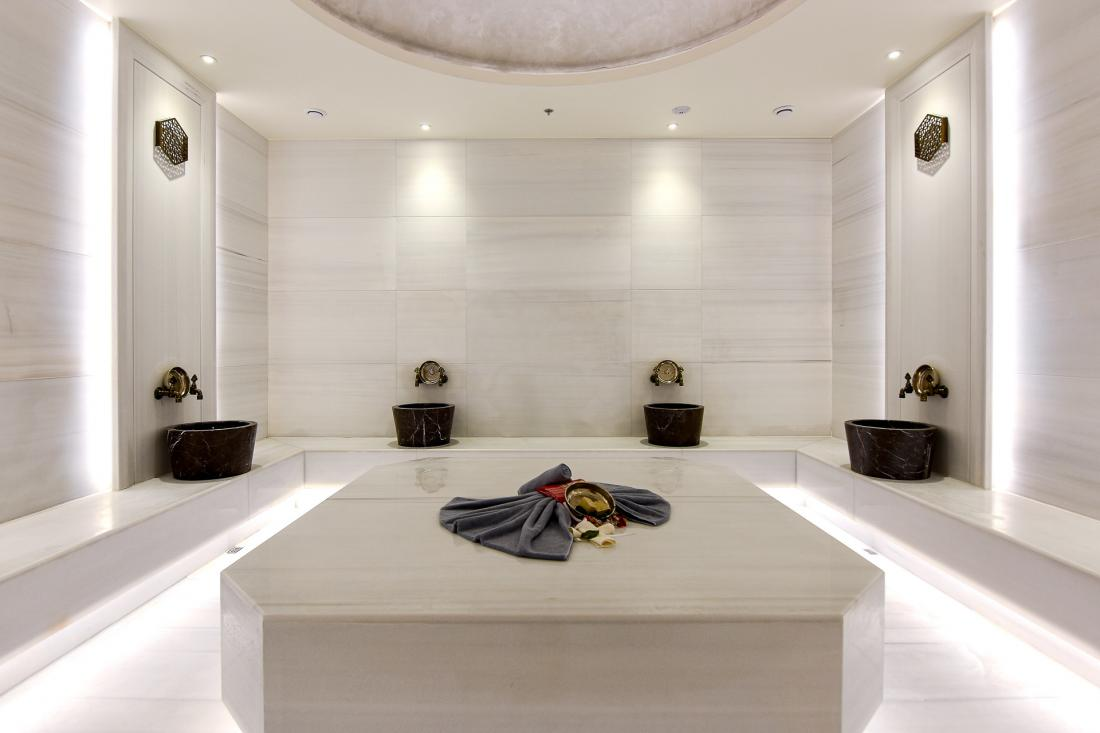 Les bains turcs au dernier étage