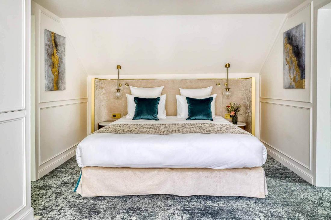D'une surface de 35 m², la suite Vendome peut accueillir jusqu'à quatre personnes