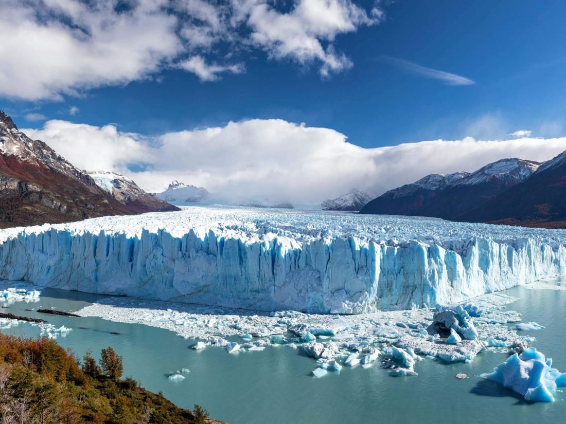 À quelques heures de route, le glacier Perito Moreno dans le Parc National Los Glaciares