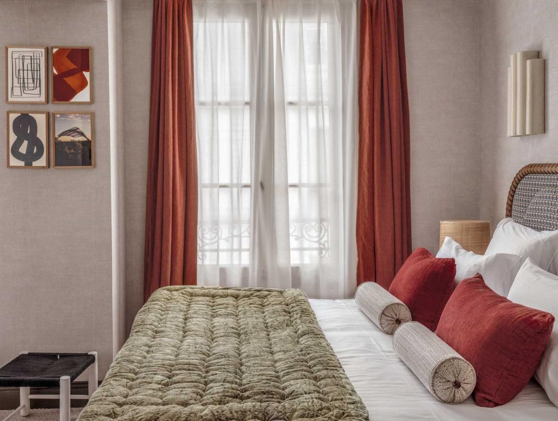 Les chambres Cosy de 13 m2, parfaites pour ceux qui passeront leur temps à profiter du quartier