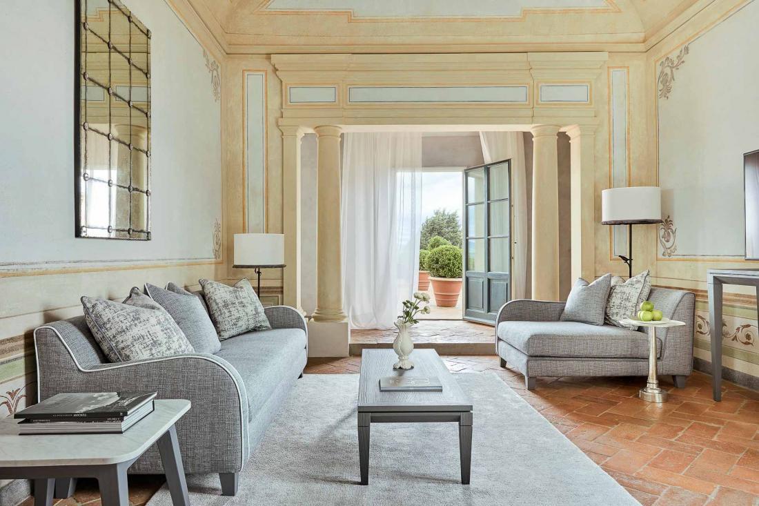 COMO Castello Del Nero - COMO Terrace Suite - Salon