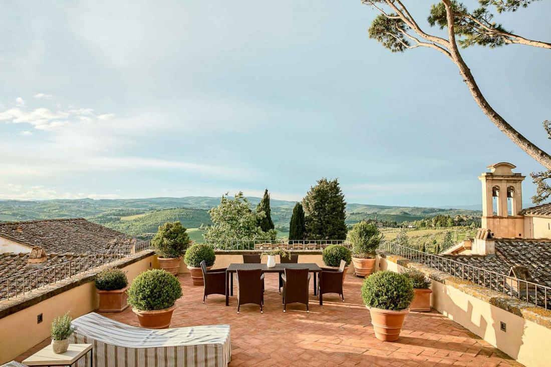 COMO Castello Del Nero - COMO Terrace Suite