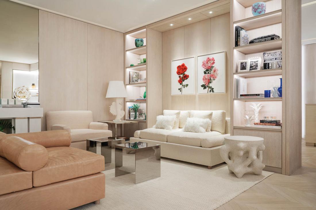 Enfin, au niveau –1, le Dior Spa ambitionne d'être l'un des plus beaux spas de Paris