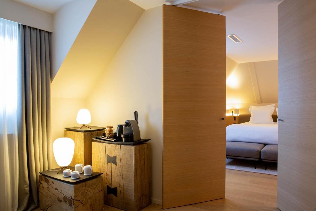 Les nouvelles chambres et suites du Chambard : sobres, claires et élégantes