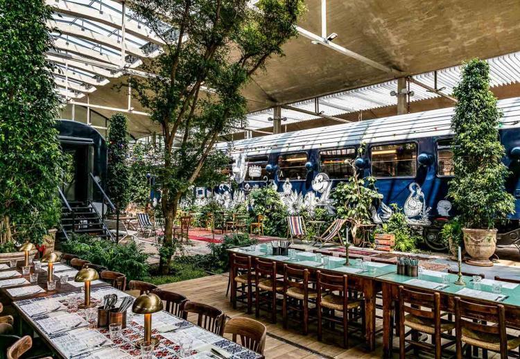 9. La Felicità (Paris 13ème) : le food market fou fou fou de Big Mamma