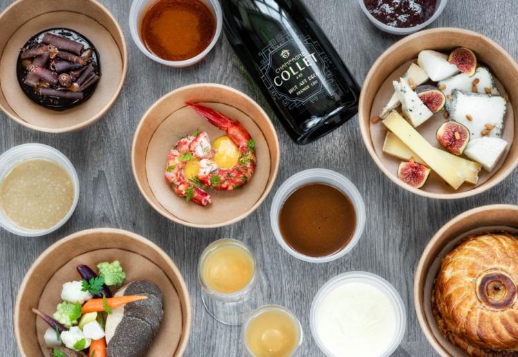 Couvre-feu : les plats à emporter des restaurants gastronomiques de Provence