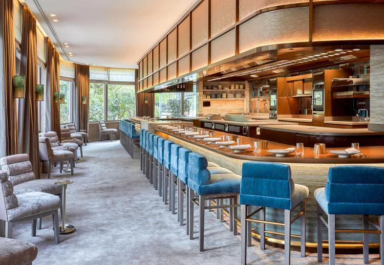 2. Pavyllon (Paris 8ème): le luxueux comptoir gastronomique de Yannick Alléno